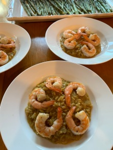 Shrimp Risotto | Catered Dinner Party